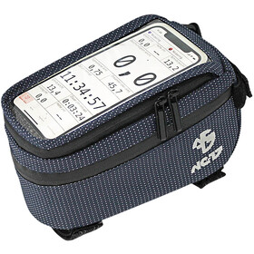 NC-17 Connect Smartphone Top Tube Bag blue dot